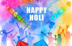 short essay on holi in india